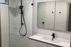 Frameless walk in Showerscreen